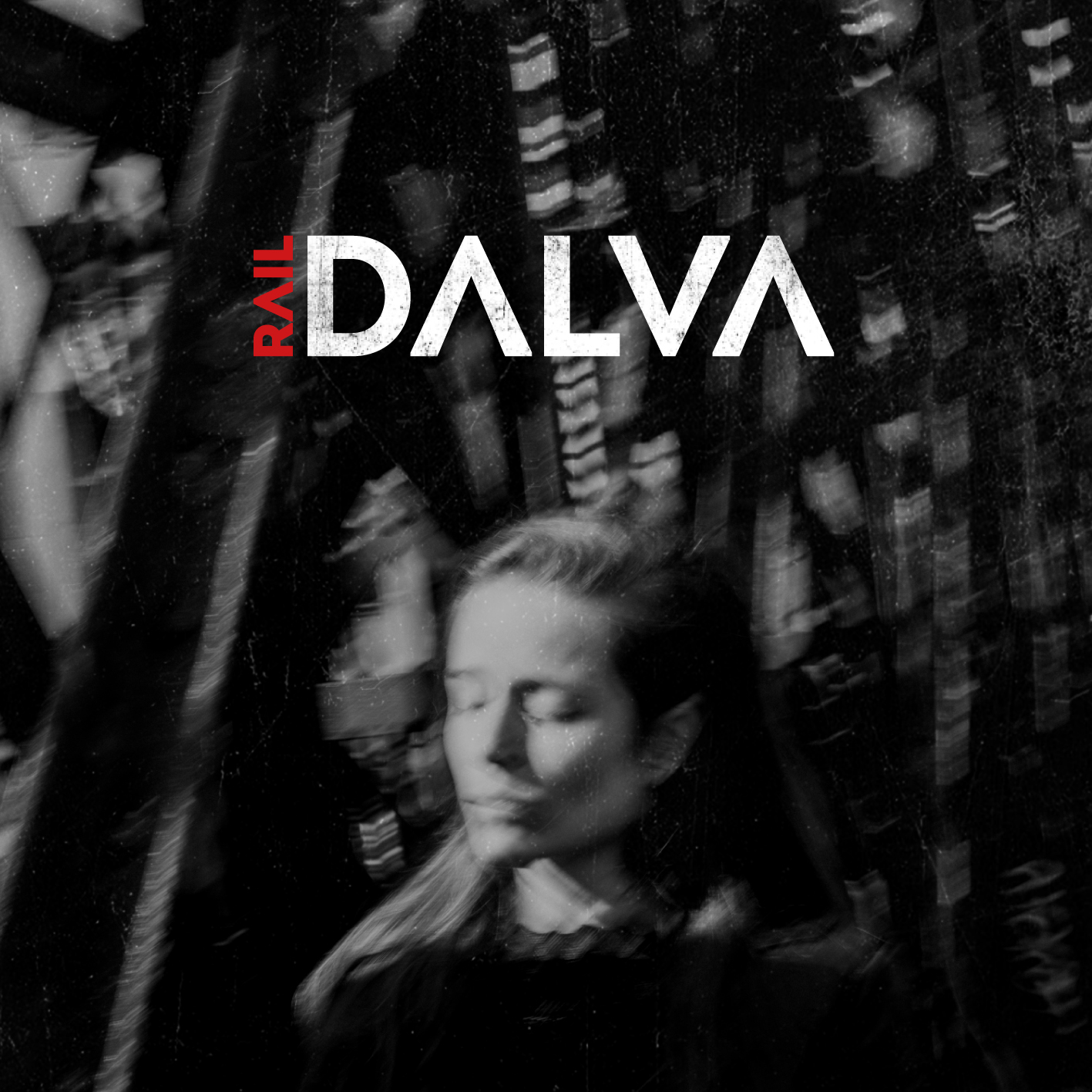 "Visuel pochette album ""Rail"" de DALVA"